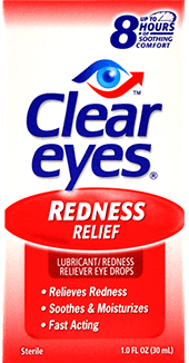 Clear Eyes® Eye Redness Relief