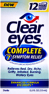 Clear Eyes® 7 Symptom Eye Drops