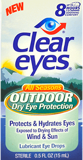 Clear Eyes® Outdoor Dry Eye Drops