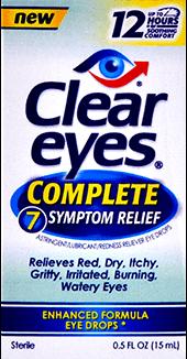 Clear Eyes® 7 Symptom Eye Drops