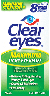 Clear Eyes® Maximum Itchy Eye Relief
