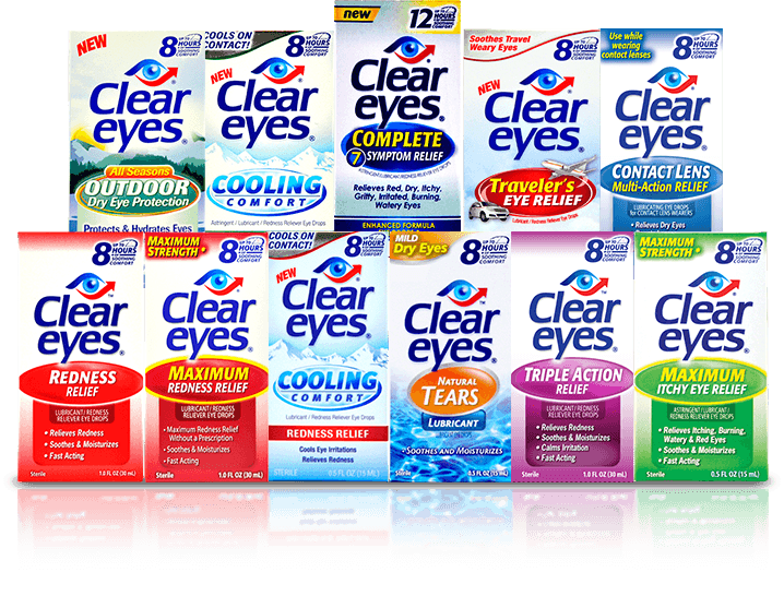 Clear Eyes Products