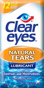 Clear Eyes® Natural Tears  Lubricating Eye Drops