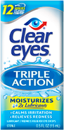 Clear Eyes® Triple Action Eye Drops