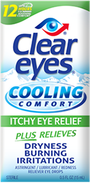 Clear Eyes® Cooling Comfort Itchy Eye Relief