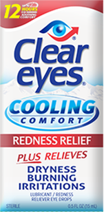 Clear Eyes® Cooling Comfort Eye Redness Relief