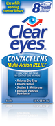 Clear Eyes® Contact Lens  Multi - Action  Eye Drops