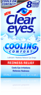 Clear Eyes<sup>®</sup> Cooling Comfort Redness Relief