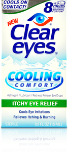 Clear Eyes<sup>®</sup> Cooling Comfort Itchy Eye Relief
