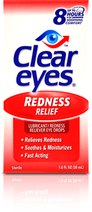 Clear Eyes<sup>®</sup> Redness Relief