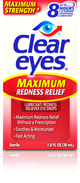 Clear Eyes® Maximum Eye Redness Relief