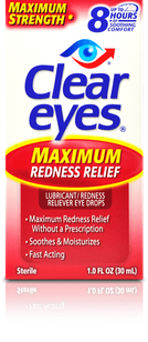 Clear Eyes<sup>®</sup> Maximum Redness Relief