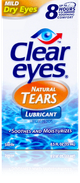 Clear Eyes® Natural Tears  Lubricating Eye Drops