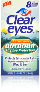 Clear Eyes<sup>®</sup> Outdoor Dry Eye Drops